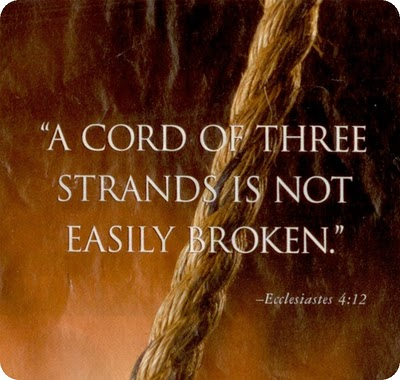 Cord of Three Strands: A Model for the Christian Marriage