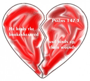 Bible Verses for the Brokenhearted