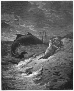 The sailors threw Jonah overboard after he convinced them that this was the only way to appease God.