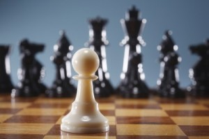 We are not helpless pawns in God's game of chess.