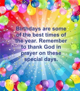 birthday prayers