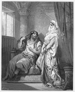 Bible Story of Samson and Delilah