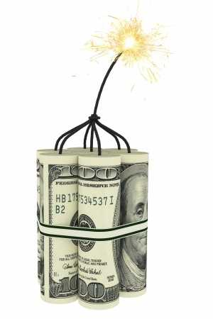 The U.S. has a ticking time bomb. America can barely make interest payments on our national debt and the debt is growing so rapidly it's out of control.