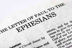 The book of Ephesians is 6 chapters of solid Christian teachings!