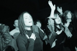 Singing and making noise to the Lord is a great way to serve with gladness.