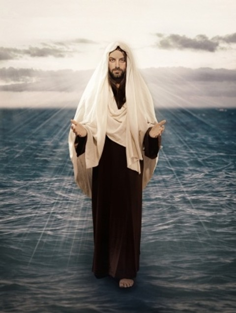 """... they saw Jesus walking on the sea and coming near the boat ..."""