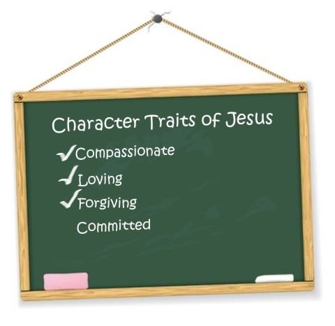 Character trates of Jesus to emulate