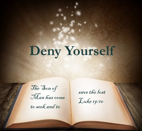 What Does It Mean To Deny Yourself