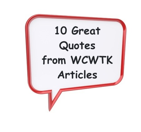10 Great Quotes From What Christians Want To Know Articles