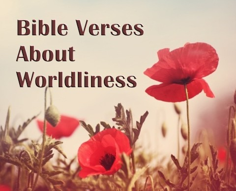 8 Important Bible Verses About Worldliness