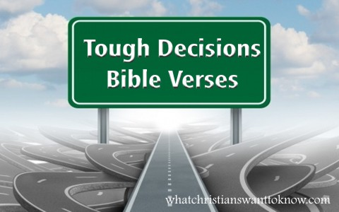 7 Great Bible Verses for Tough Decisions