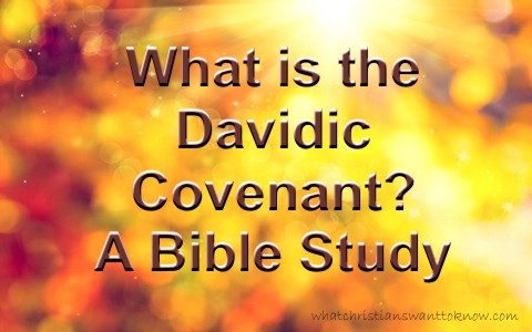 What Is The Davidic Covenant