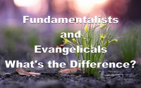 What Is The Difference Between Fundamentalists and Evangelicals