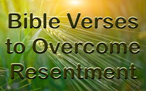 7 Bible Verses To Help Overcome Resentment
