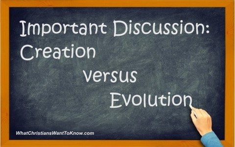 The Importance of the Creation Vs Evolution Discussion