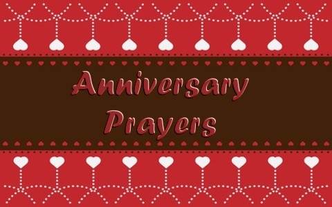 anniversary prayers