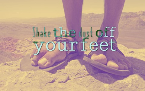 What Did Shaking The Dust Off Your Feet Mean In The Bible
