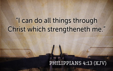 20 Inspiring KJV Bible Verses About Strength
