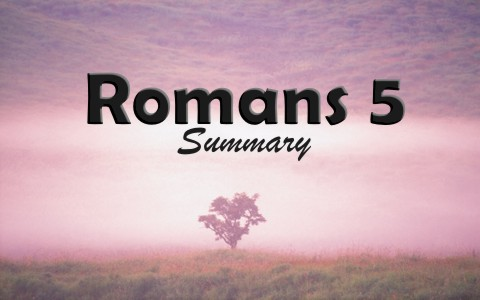 Romans 5 Bible Study and Summary