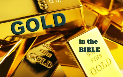 what does the color gold represent when used in the bible
