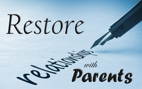 6 Tips To Restoring A Broken Relationship With A Parent