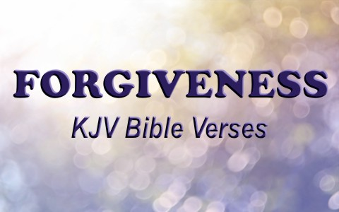 8 Awesome KJV Verses About Forgiveness