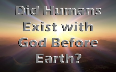 Did Humans Exist With God Before They Were Born On Earth