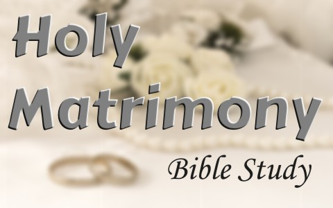 What Does Holy Matrimony Mean