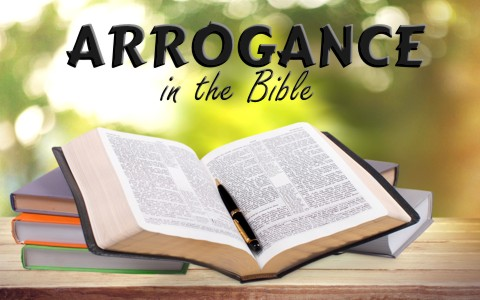What does the bible say about arrogance