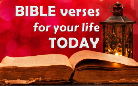 6 Bible verses to apply to your life today