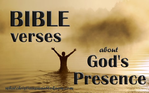 7 Awesome Bible Verses About God's Presence
