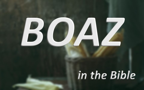 Boaz in the Bible