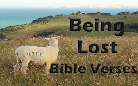 8 Bible Verses About Being Lost