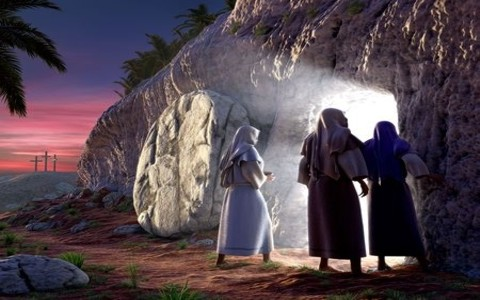 The tomb wasn't left open so that Jesus could get out; it was left open so that eye witnesses could get in and see that it was empty.