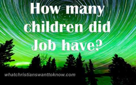 How many children did Job have