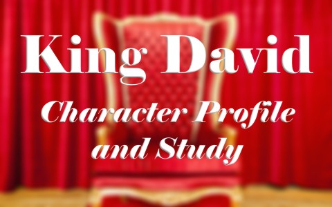King David character profile and study