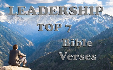 Top 7 Bible Verses About Leadership