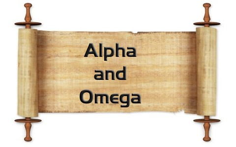 What Does The Alpha and Omega Mean When Used In The Bible