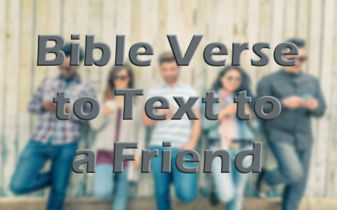 10 bible verses to text to a struggling friend