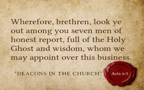 f99eea75ed3 ... deacons in a church are really serving the way God intended them  To  know that we have to know what is a deacon  A Bible study will reveal the  answer.